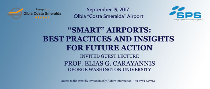 """SMART"" AIRPORTS: BEST PRACTICES AND INSIGHTS FOR FUTURE ACTION"